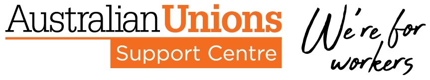 Australian Unions Support Centre Help Centre home page