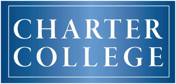 Charter College banner