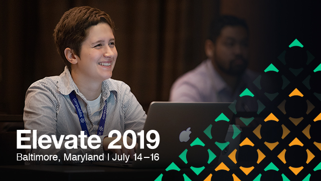 Elevate 2019, Baltimore MD, July 14-16