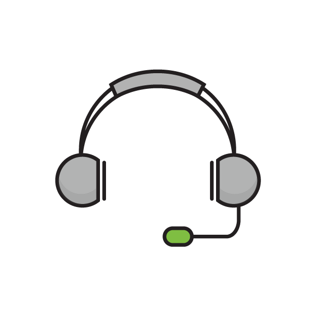 Support Headset Icon