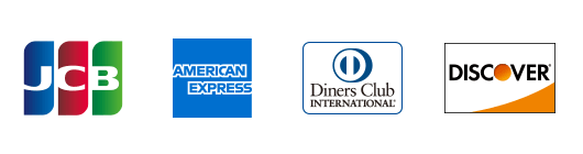 JCB,American Express,DinersClub,DISCOVER