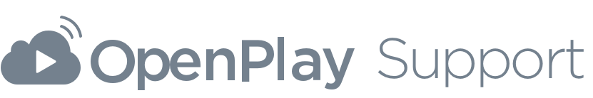 OpenPlay Help Center home page
