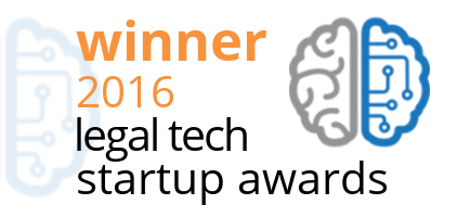 Winnaar Dutch Legal Tech Startup Awards 2016