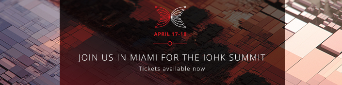 Join us in Miami for the IOHK summit - April 17-18