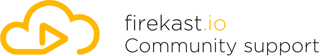 firekast Help Center home page