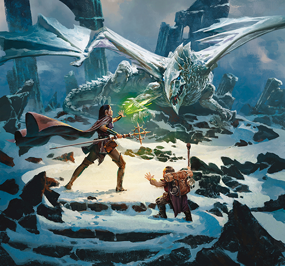 Artwork for Dungeons and Dragons