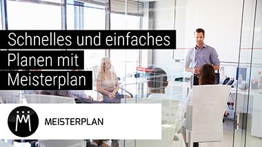 Schnelles und einfaches Planen mit Meisterplan