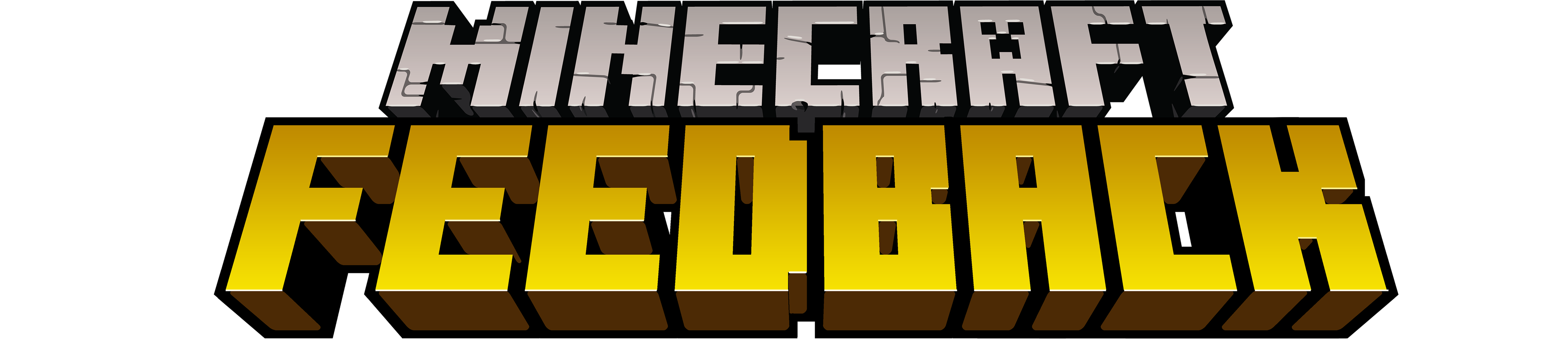 Minecraft Feedback Logo