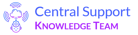 CS Knowledge Help Center home page