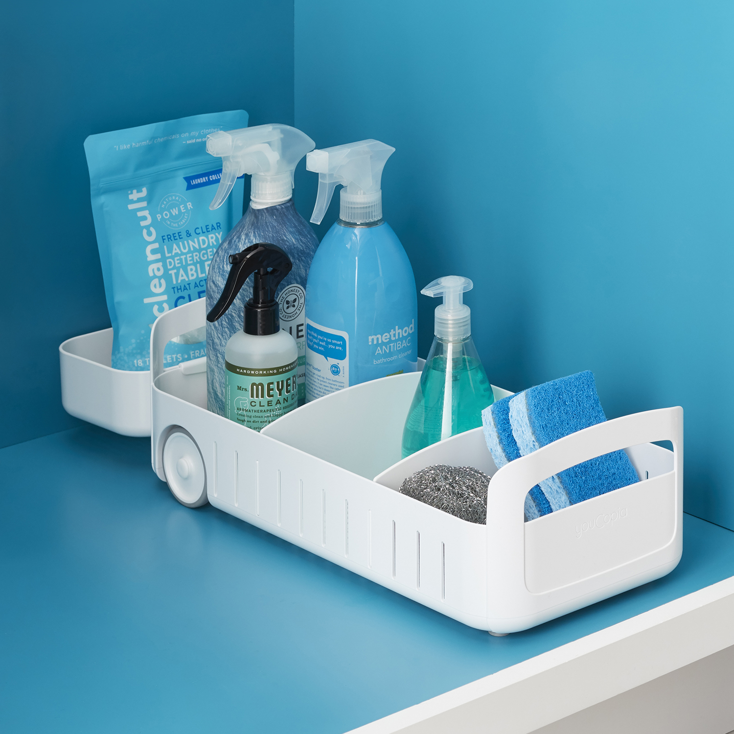 Rollout Under Sink Caddy