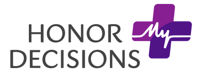 Honor My Decisions Help Center home page