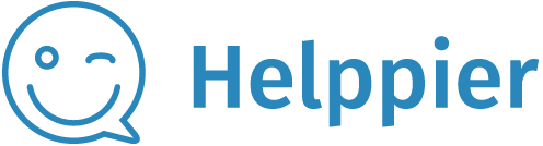 Helppier Help Center home page