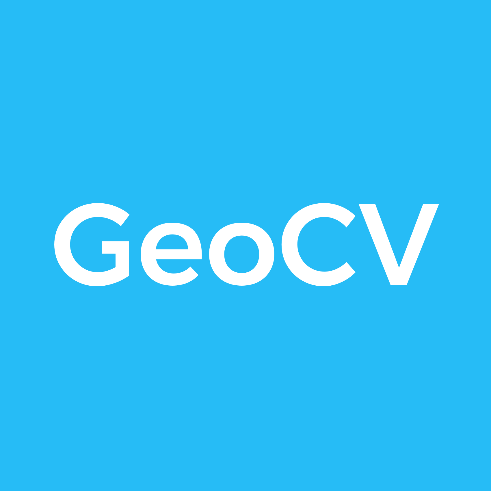 GeoCV Help Center Help Center home page