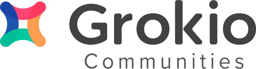 Grokio Communities Help Center home page