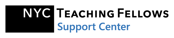 NYC Teaching Fellows - Support Center Help Center home page