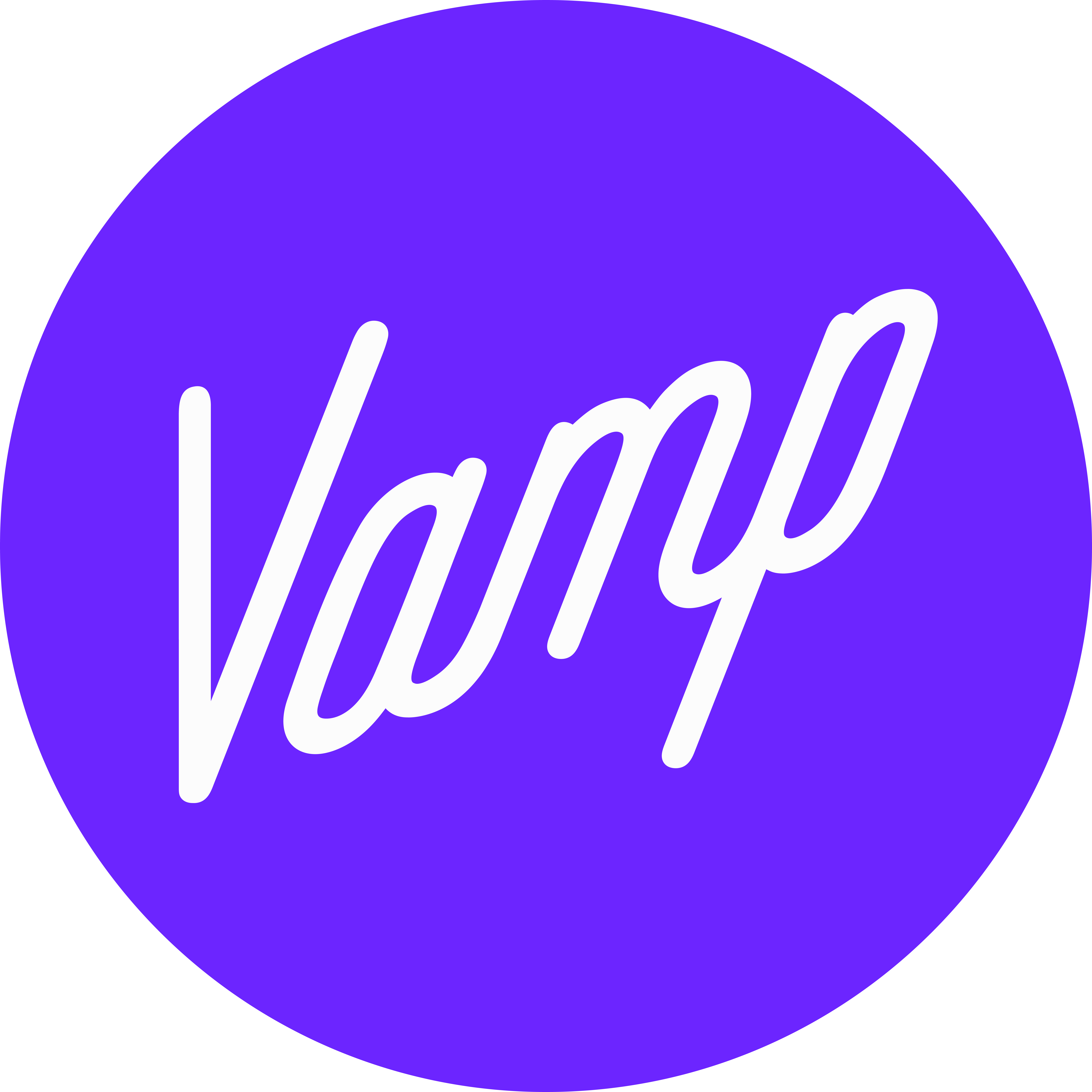 Vamp Help Center home page