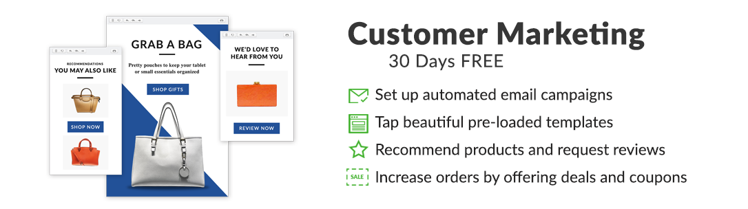 CUSTOMER MARKETING | 30 Days FREE