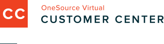 OneSource Virtual Customer Center