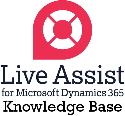 Live Assist for Microsoft Dynamics 365 Knowledge Base