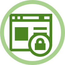 Data/Security information Icon