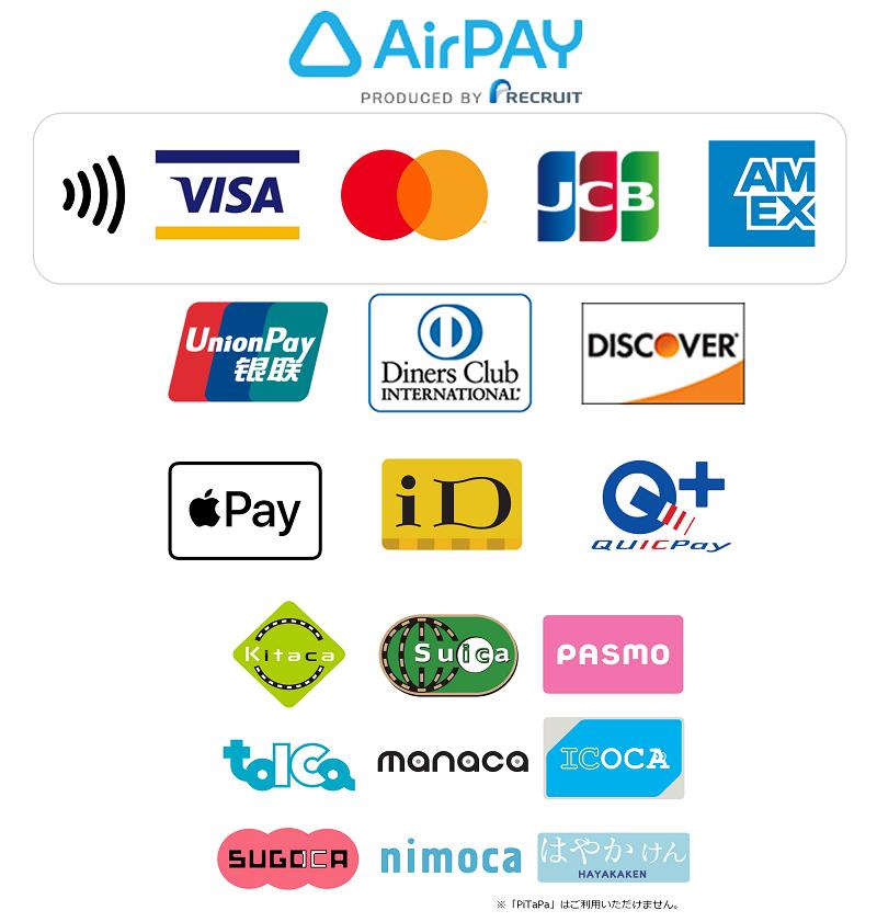 お支払い方法(AirPay)| Total Beauty 221