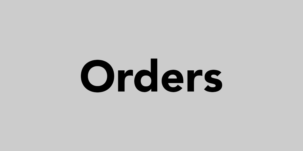 For any questions regarding orders or shipping icon