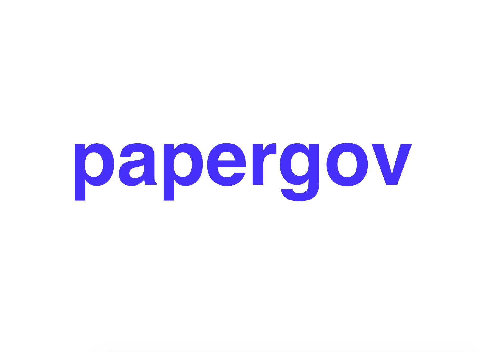 Papergov Help Center Help Center home page
