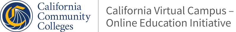 California Virtual Campus-Online Education Initiative Help Center home page
