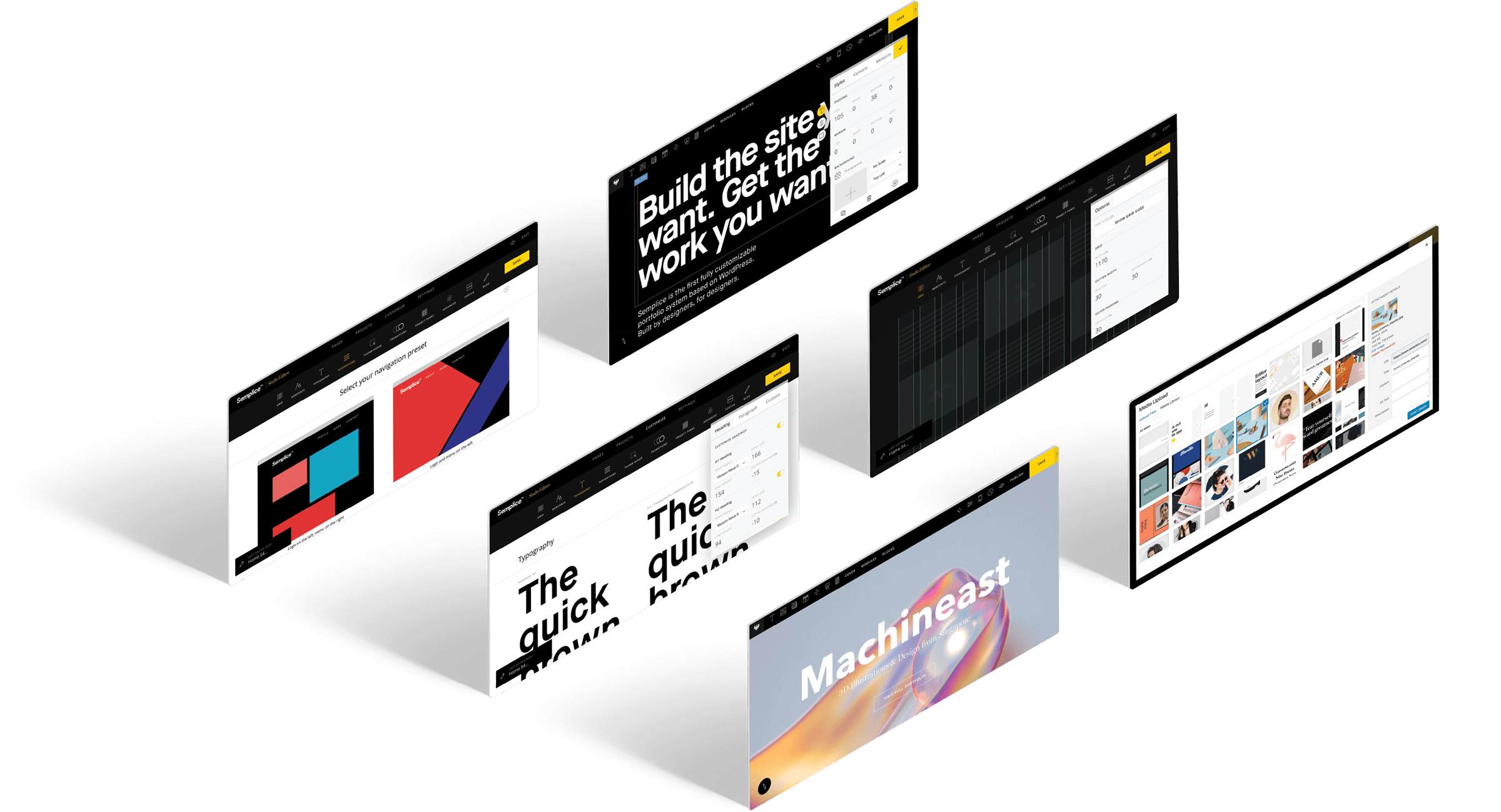 Semplice Help Center home page