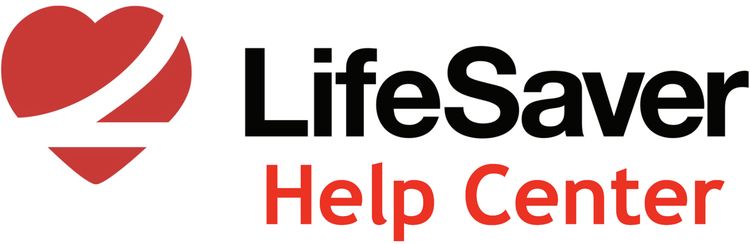 LifeSaver Help Center home page