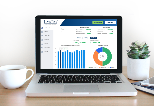LawPay Help Center home page