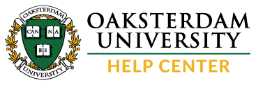 Oaksterdam University Help Center home page