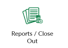 Reports / Close Out