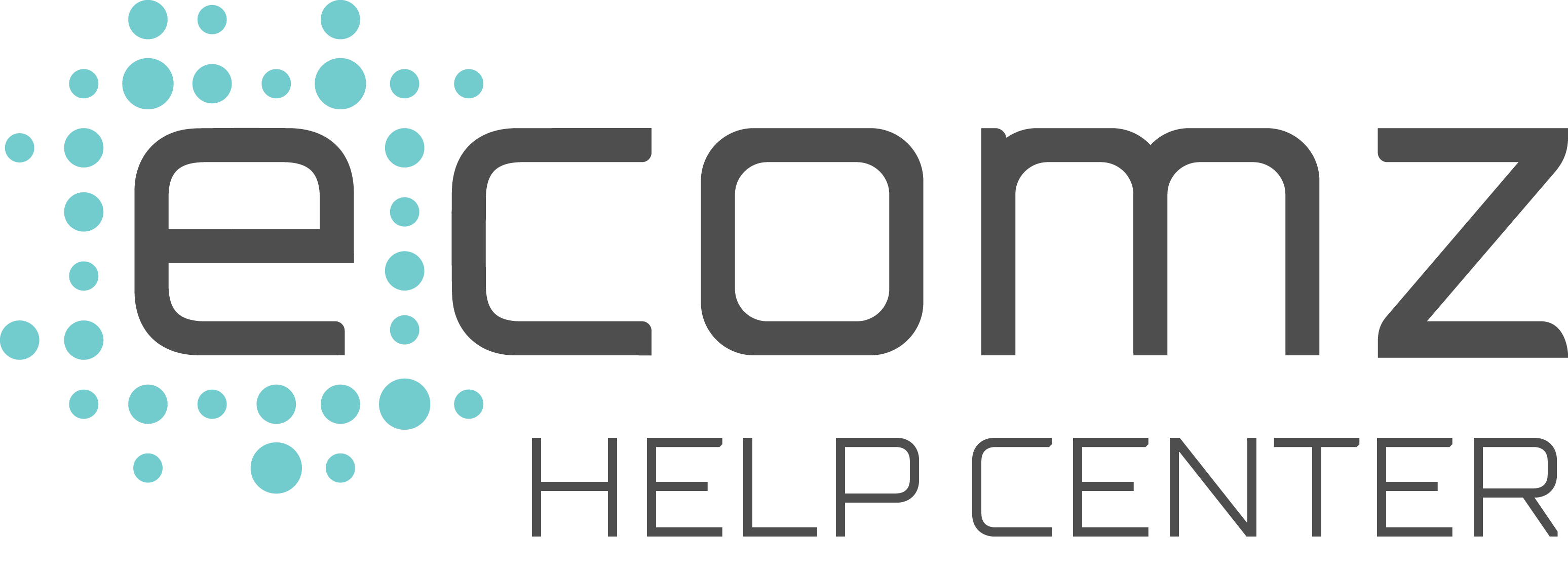 ecomz Help Center Help Center home page