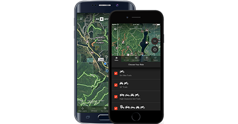 Offroad App Features
